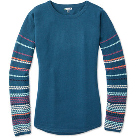 Smartwool Shadow Pine Sweat-shirt à col ras-du-cou Femme, deep marlin heather